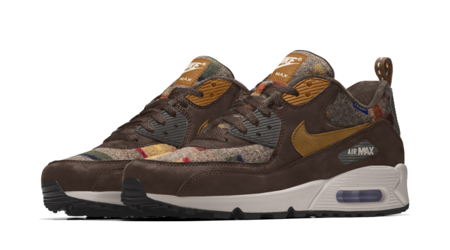 sale retailer d4aea cea23 New Pendleton Air Max Options on Nike iD