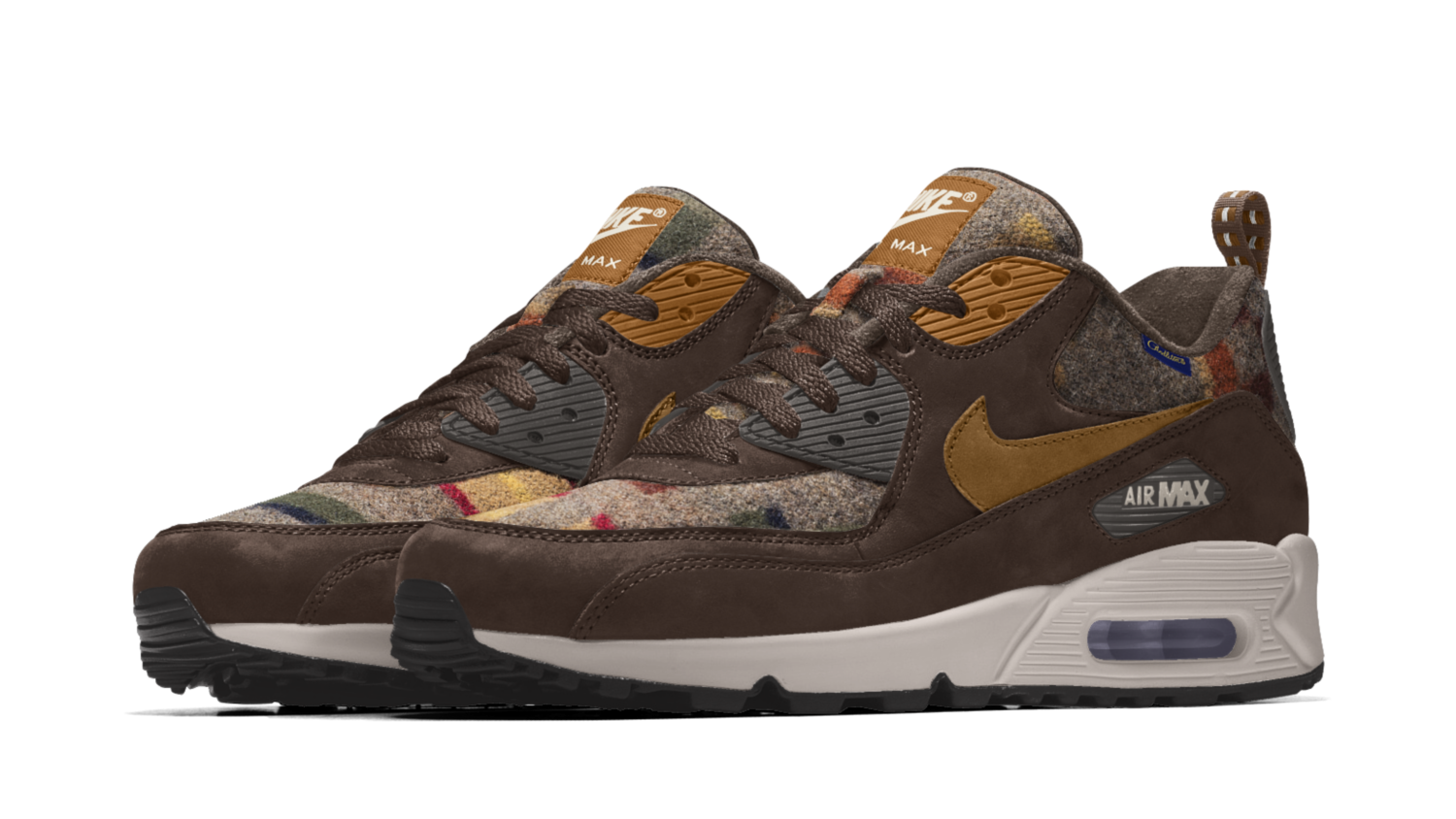 regarder fff62 aa0ed Nike Air Max 90 iD Pendleton Available Now | Sole Collector