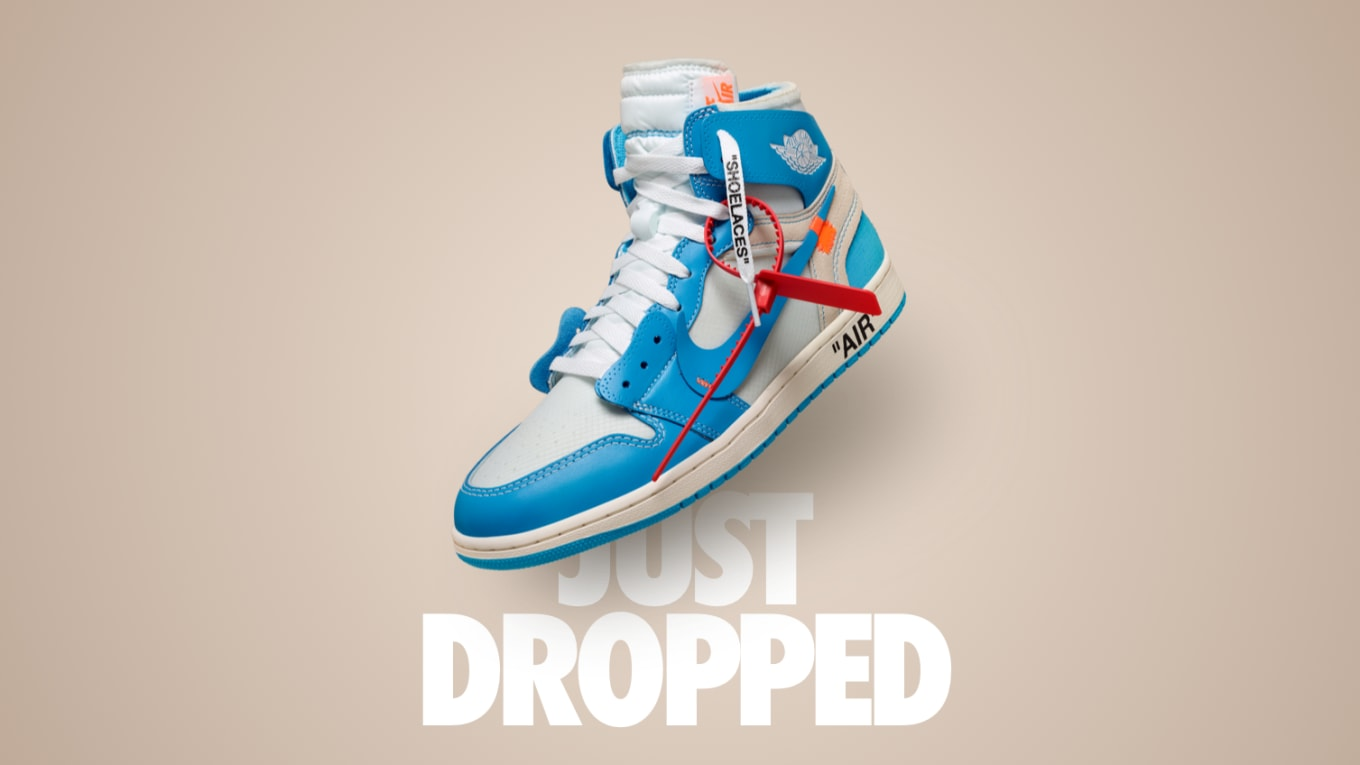 f26d021c852 Nike Just Released the 'UNC' Off-White x Air Jordan 1. From out of nowhere.