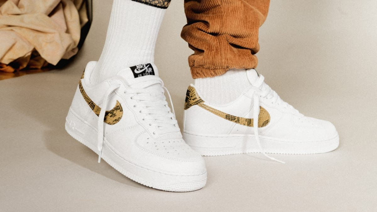 hot sale online low price sale shades of Nike Air Force 1 Low 'Ivory Snake' AO1635-100 Release Date ...