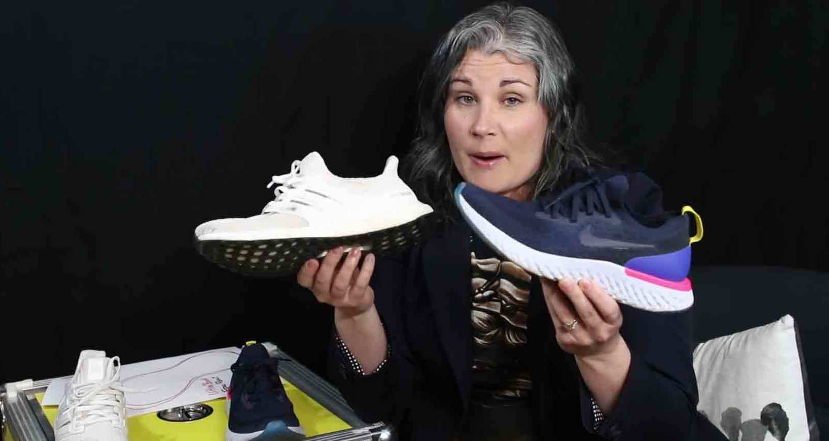 32bee536a82eb Former Nike Designer Tiffany Beers Reviews Epic React vs. Adidas Ultra Boost