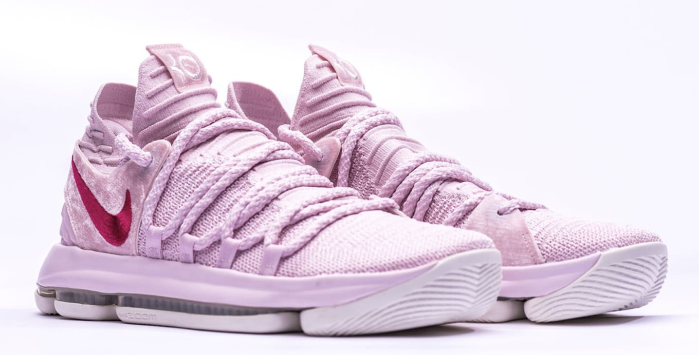 sports shoes 82ee7 5ab53 Nike KD 10  Aunt Pearl  Teaser   Sole Collector