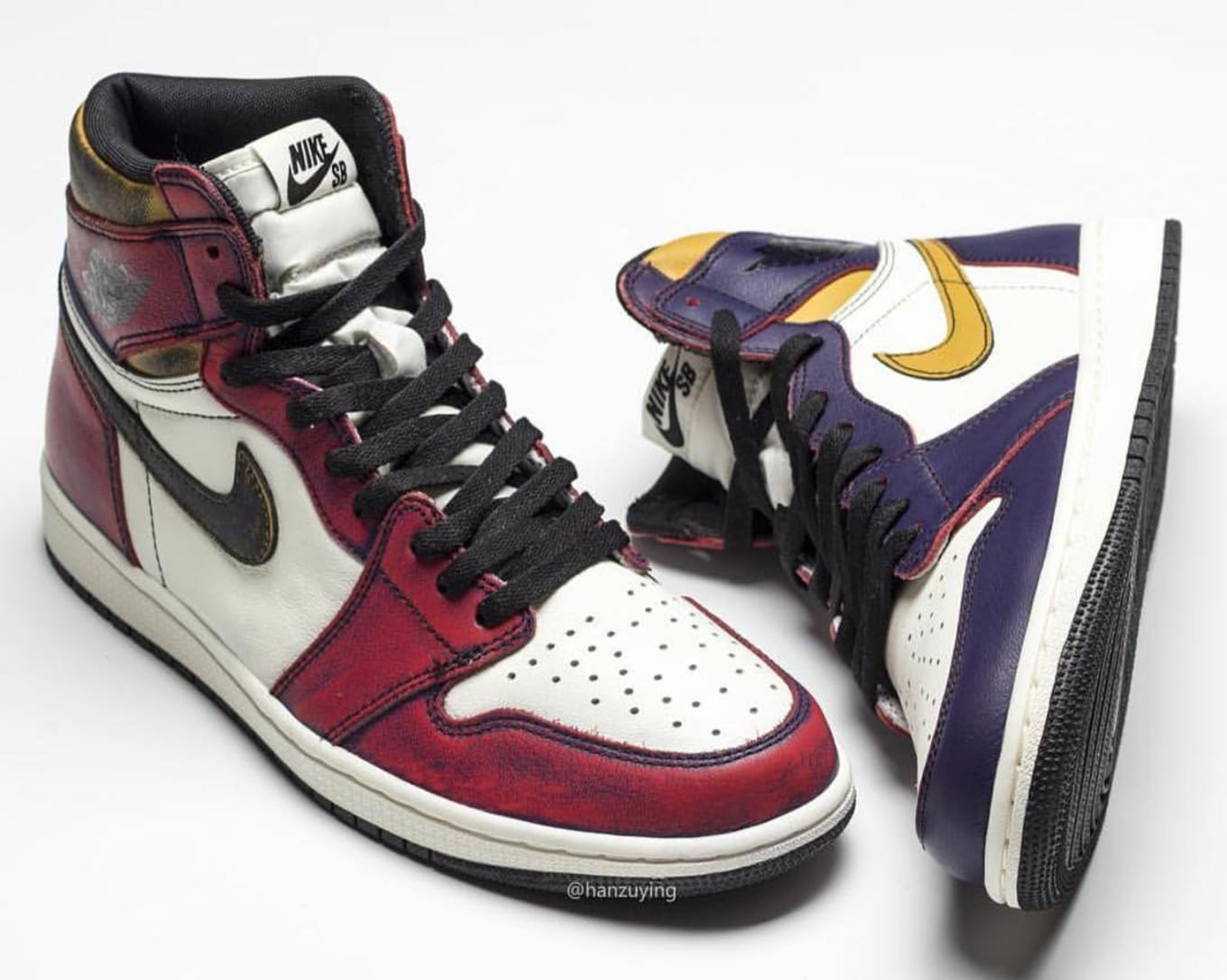 official photos d9ef2 160c1 See the Upcoming Nike SB x Air Jordan 1 With Its Paint Worn Away