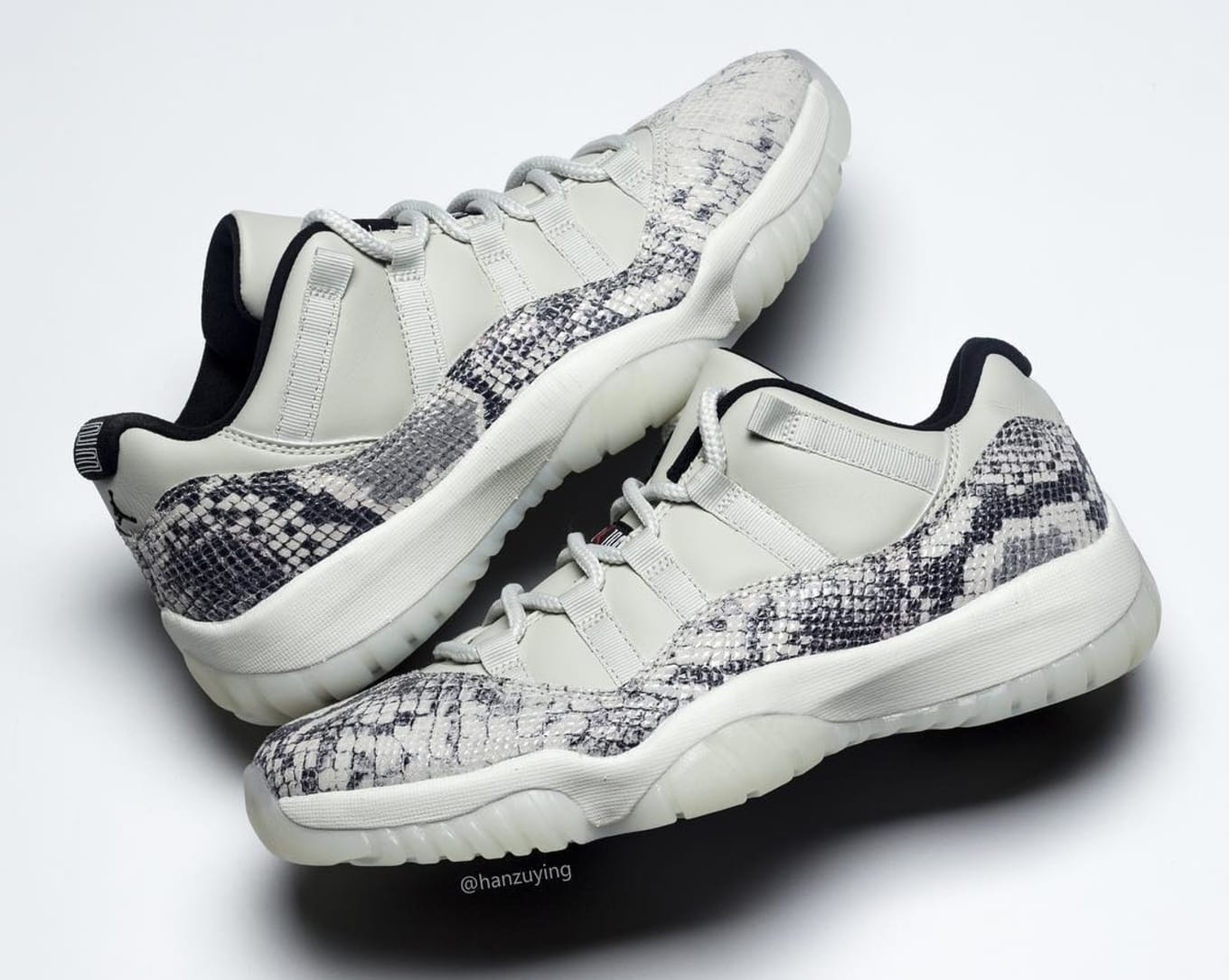 185853125aca Air Jordan 11 Low SE  Snakeskin  Release Date CD6846-002