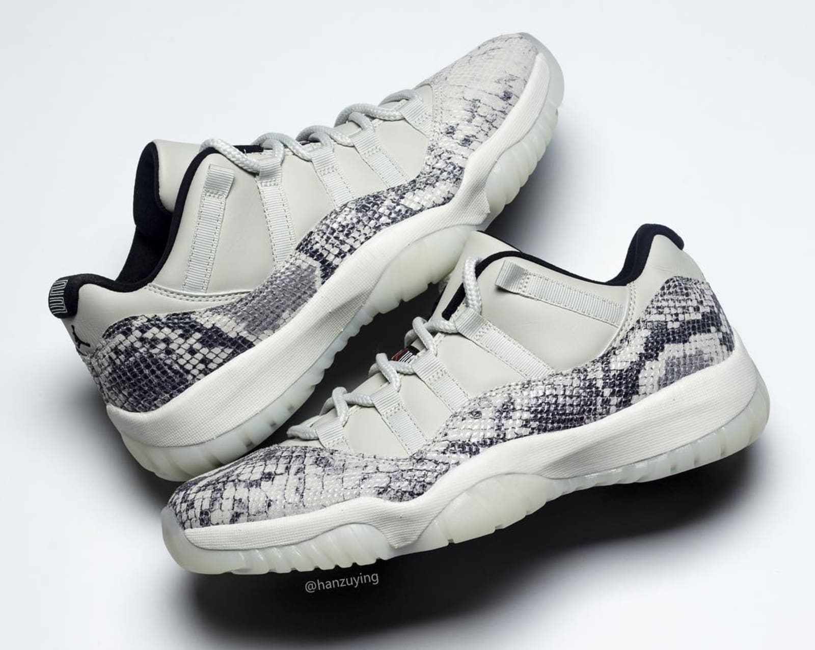 397e5a85577d Detailed Shots of the Brand New  Snakeskin  Air Jordan 11 Low.