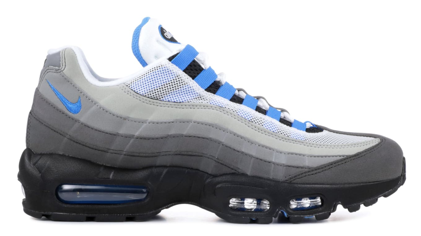 new style dc164 97568 Nike Air Max 95 Crystal Blue AT8696-100 Release Date  Sole C