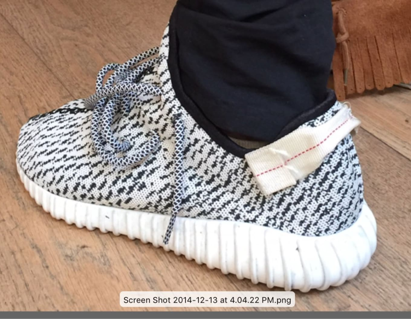 e2c1a020bafd1 Kanye West Shares the Original Yeezy Boost 350 Sample