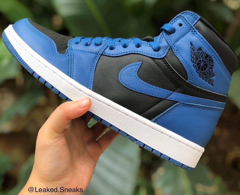 Air Jordan 1 Dark Marina Blue 555088-404 Release Date   Sole Collector