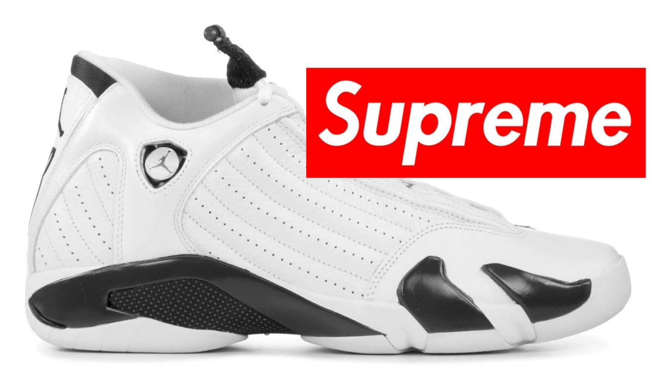 03d7a80c23c Rumored Pricing for the Supreme x Air Jordan 14 Collaboration