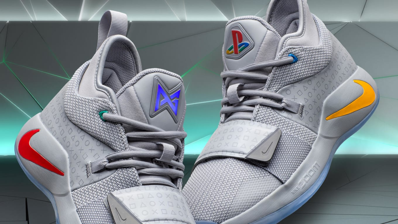 01090a7f891c Playstation x Nike PG 2.5  Wolf Grey Multi-Color  BQ8388-001 Release ...