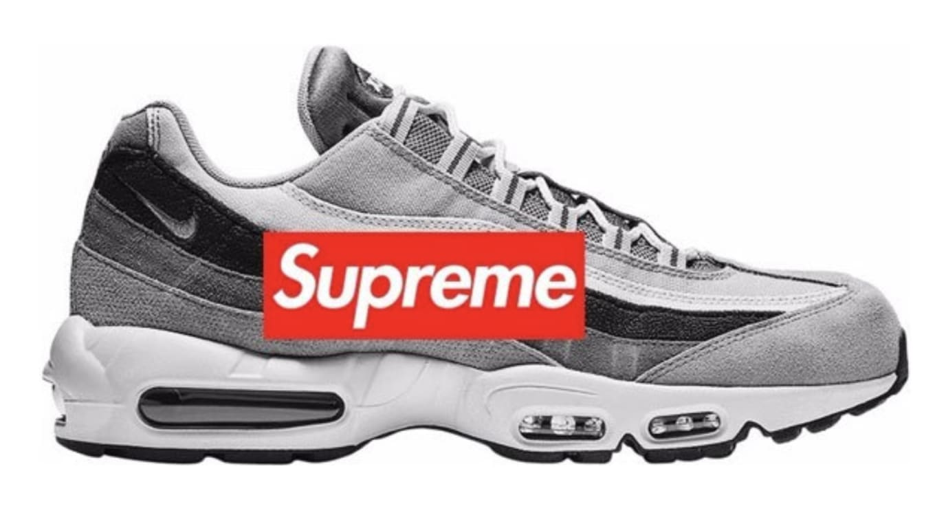 e940e73b57218 Supreme x Nike Air Max 95 Lux  Hyper Cobalt Black   University Gold ...