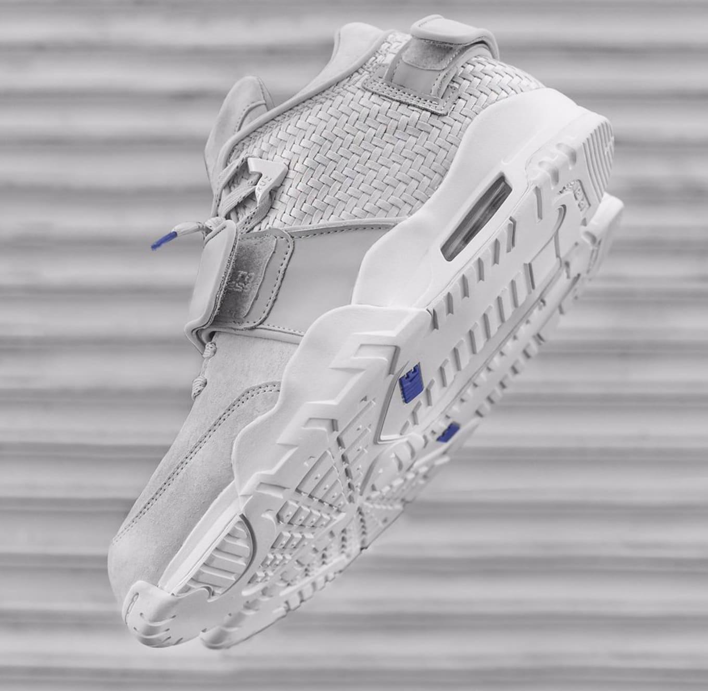 d1c05fcd8a6 Nike Air Trainer Victor Cruz Grey Blue Release Kith