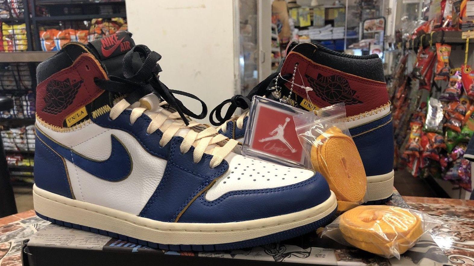 Union LA x Air Jordan 1 Surfaced on eBay for  1 c2fb9eac0d