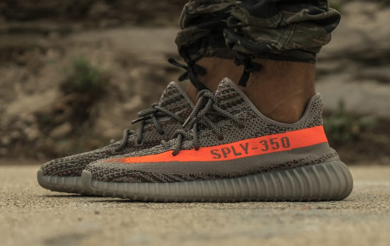Shop Adidas Yeezy Boost 350 V2 Black Red 'SPLY 350' All Sizes For