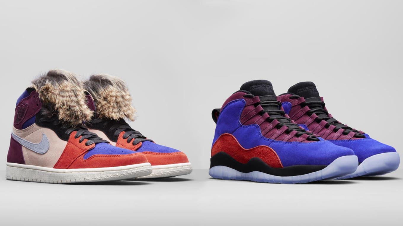 f2e40b3e Aleali May x Air Jordan 1 Court Lux Maya Moore x Air Jordan 10 Court ...