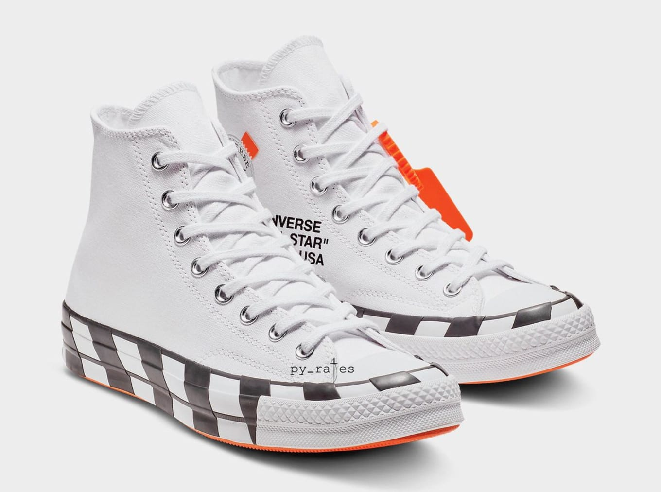 OFF WHITE x Converse Chuck Taylor 70s Original & Fake
