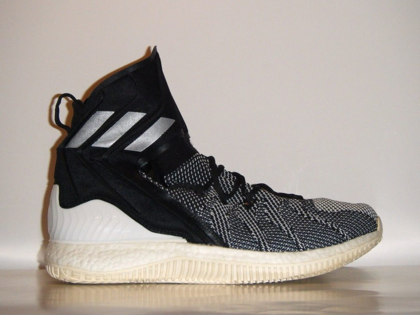 promo code d567e 3ef83 Is Adidas Making Ultra Boost Basketball Shoes  A prototype surfaces on eBay.