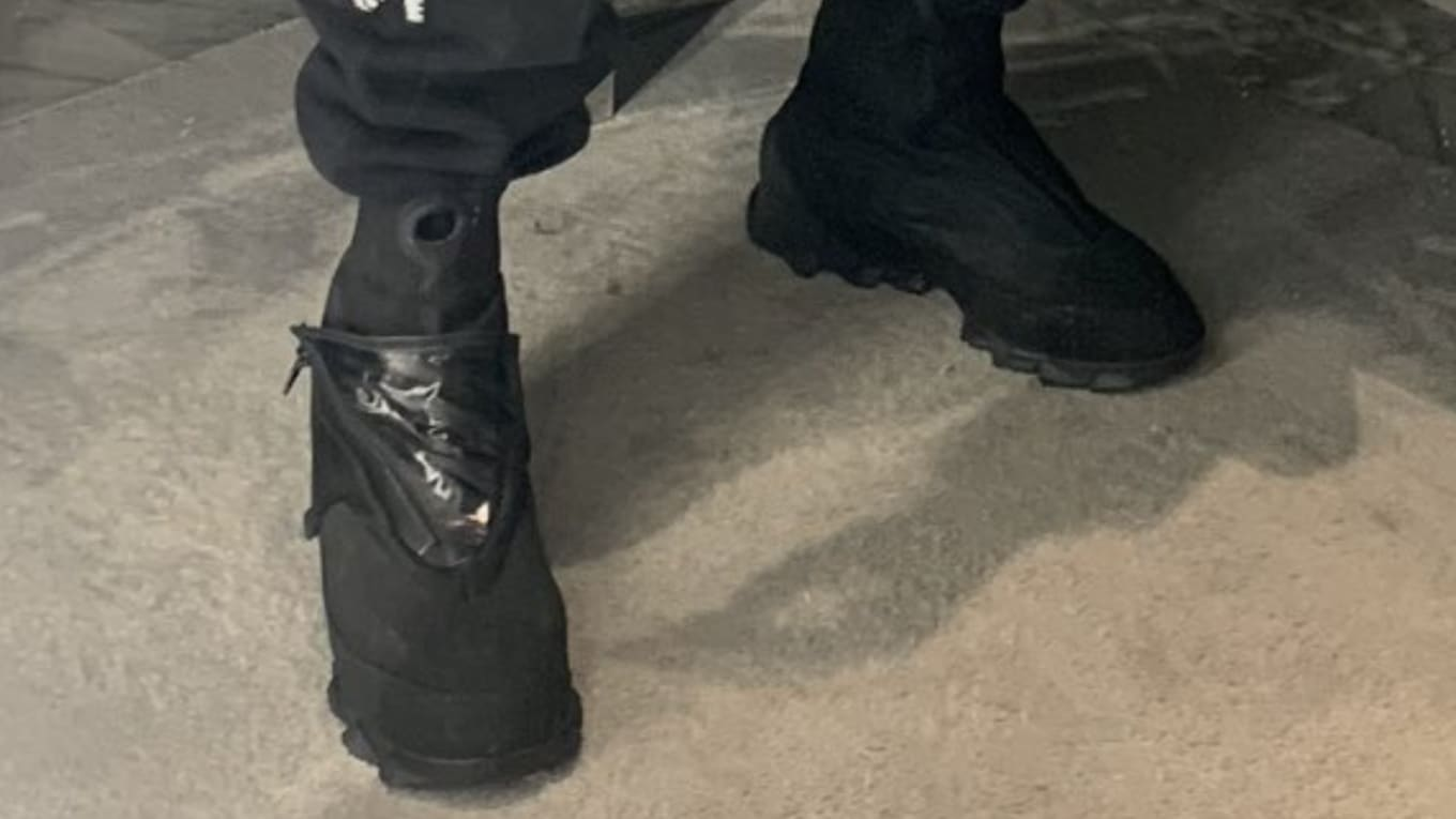 f0078e83760 Did Kanye West Debut New Yeezy Boots