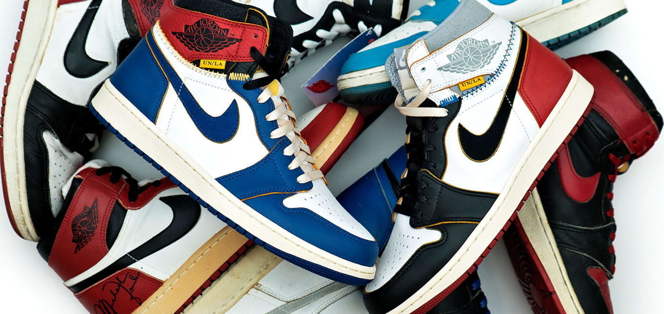 separation shoes 88df3 514db It Took Nine Attempts to Make the Union x Air Jordan 1 ...