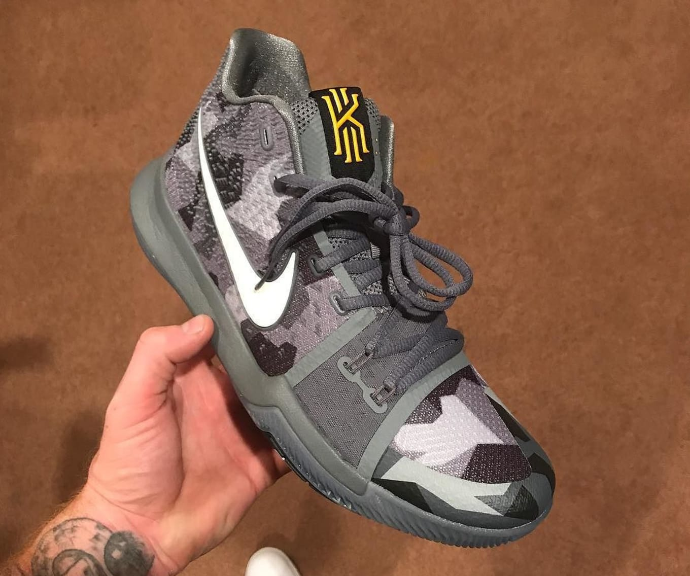 the best attitude e86b1 bbcf6 Nike Kyrie 3 Girls EYBL 942206-002   Sole Collector