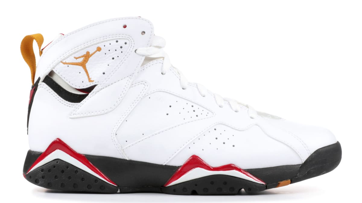 376bcab51f8c66 Reflective Air Jordan 7  Cardinal  Rumored For April