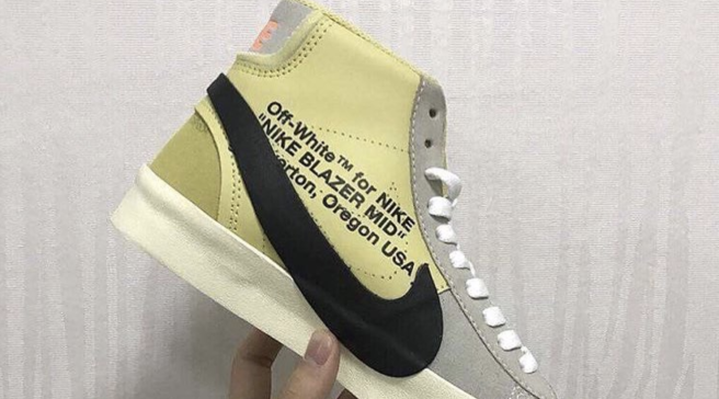the latest d42d7 e8a61 New Images of the Upcoming Off-White x Nike Blazer Mid