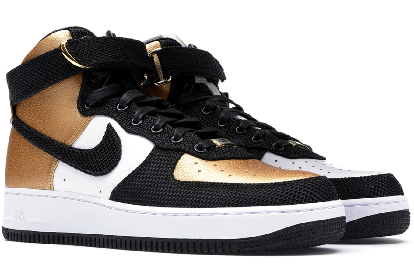 Dj Skee Gold Rush Rally X Nike Air Force 1 Bespoke Raffle Sole