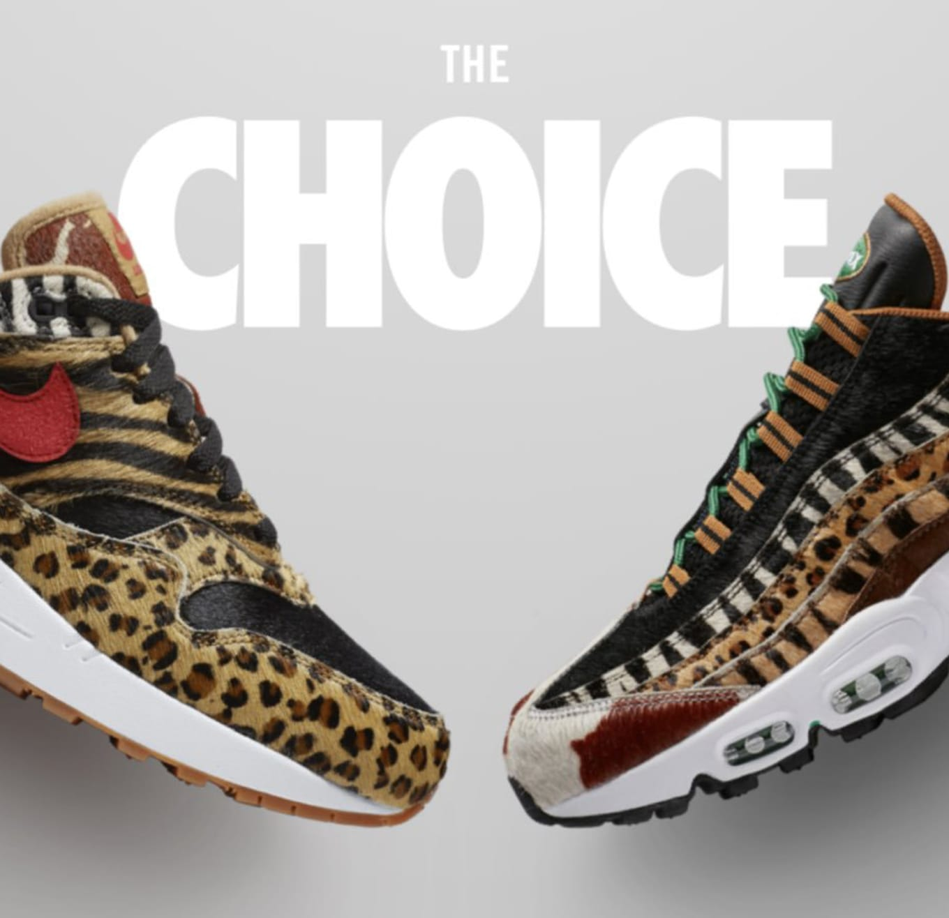 buy popular 15093 f1f3a Nike s Re-Releasing the Atmos Air Max  Animal Pack . Exclusive to  NikeConnect SNKRS users.