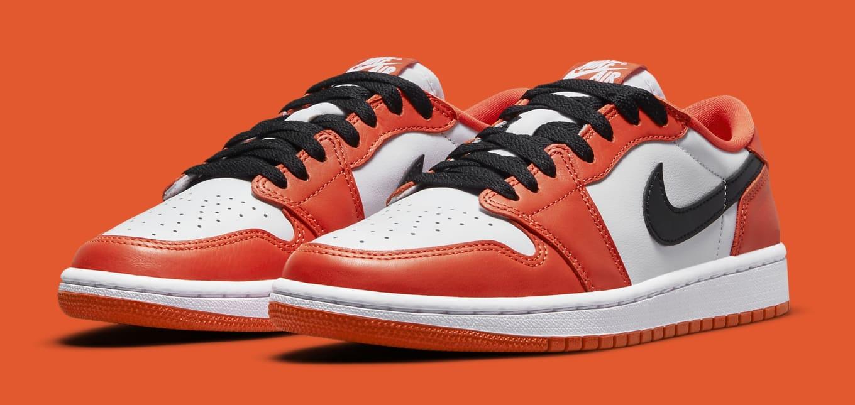Air Jordan 1 Low OG Orange/White/Black CZ0790-801 Release Date ...