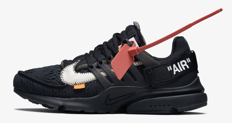finest selection 53c85 23c41 Off-White x Nike Air Presto  Black