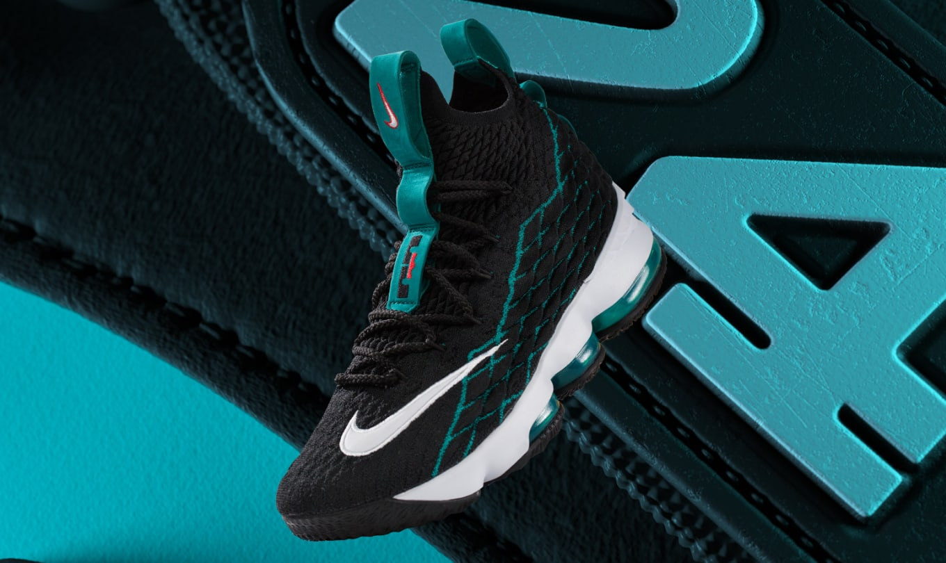 info for 8f3b2 0674c Ken Griffey Jr. Reacts to the Nike LeBron 15  Griffey    Sole Collector