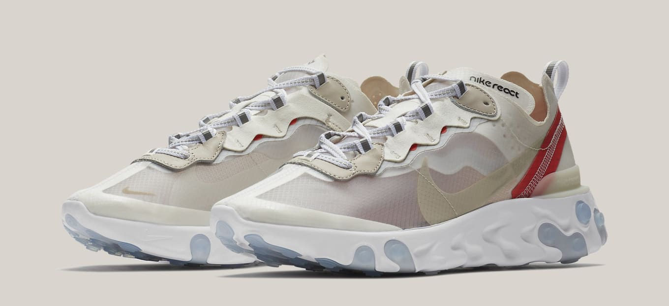 new concept 6cbb3 84573 Best Look Yet at the Nike React Element 87s