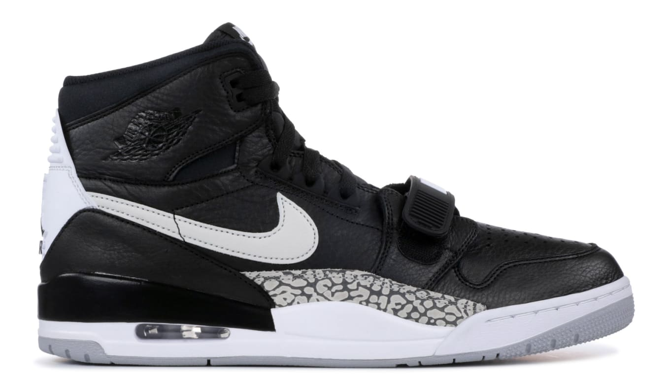 0a6542fe199cde  Black Cement  make-up reminiscent of the Air Jordan 3.