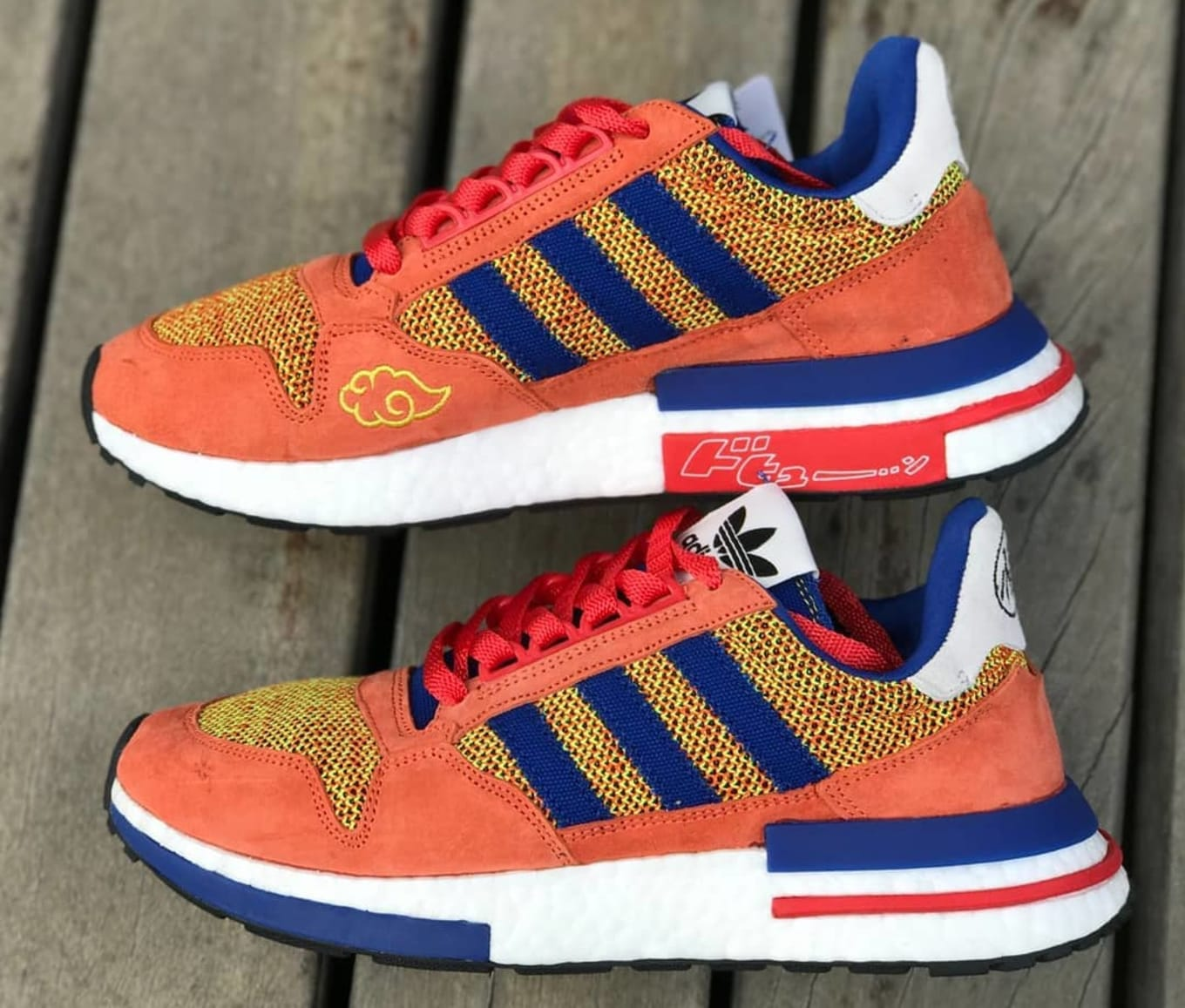 1b2f47f0e ...  Son Goku  Dragon Ball Z x Adidas Sneakers. ZX 500 RM coming this fall.