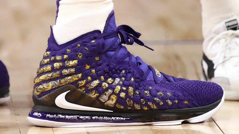 Every Lebron James Sneaker 2019 2020 Nba Season Sole Collector