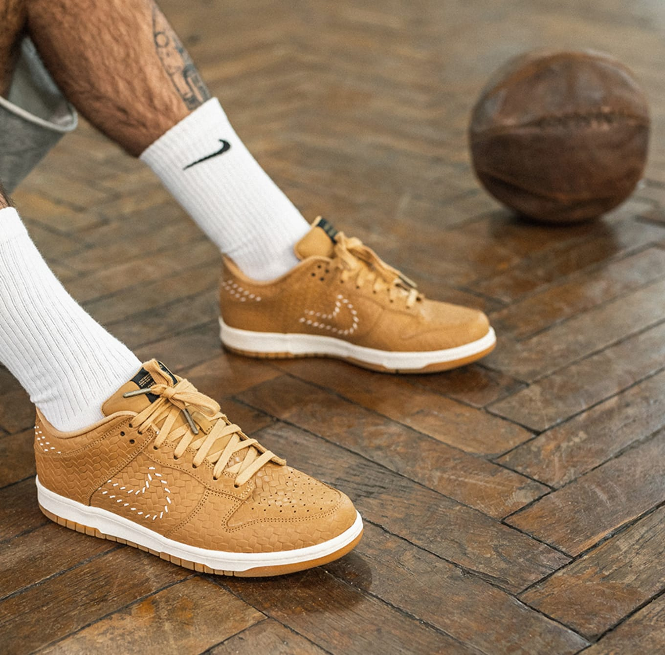 8f25d5913409 Nike Made Exclusive Sneakers for the World s Oldest Basketball Court