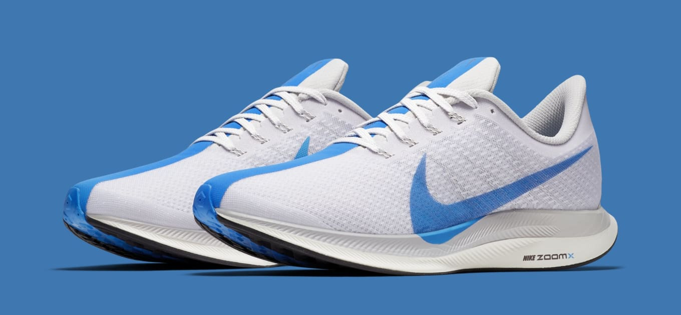 purchase cheap 7ef8a bb8fa UNC Vibes on Upcoming Zoom Pegasus Turbos. Carolina blue kicks.