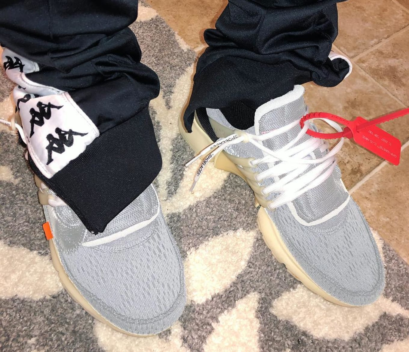 Off White Nike Air Presto Silver Release Date | Sole Collector