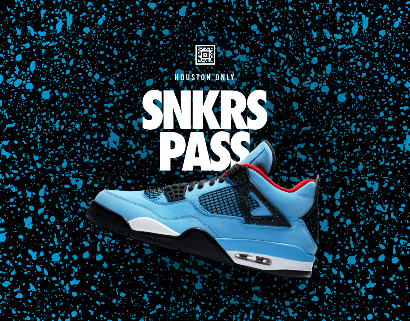 b93c7320b9b Travis Scott's Air Jordan 4s Available Early. SNKRS Pass for Houston.