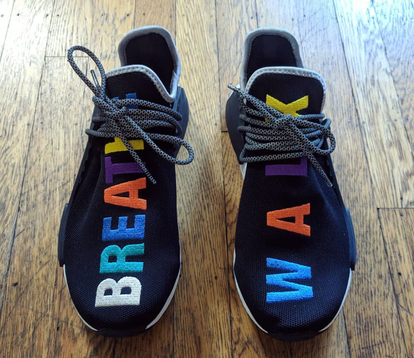 d7550610d5091 Pharrell Williams x Adidas NMD Hu  Breathe and Walk  Friends and ...