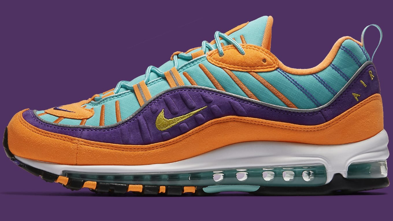 ae323a24bce This Nike AIr Max 98 Has an Unusual Color Combination