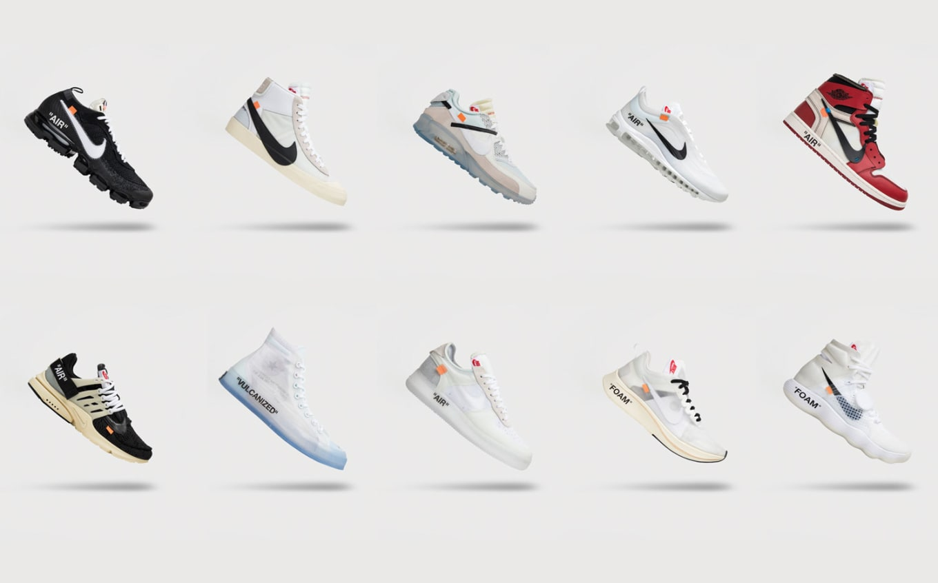 85f12041ba8 GOAT Is Giving Away Every Off-White x Nike  The Ten  Sneaker