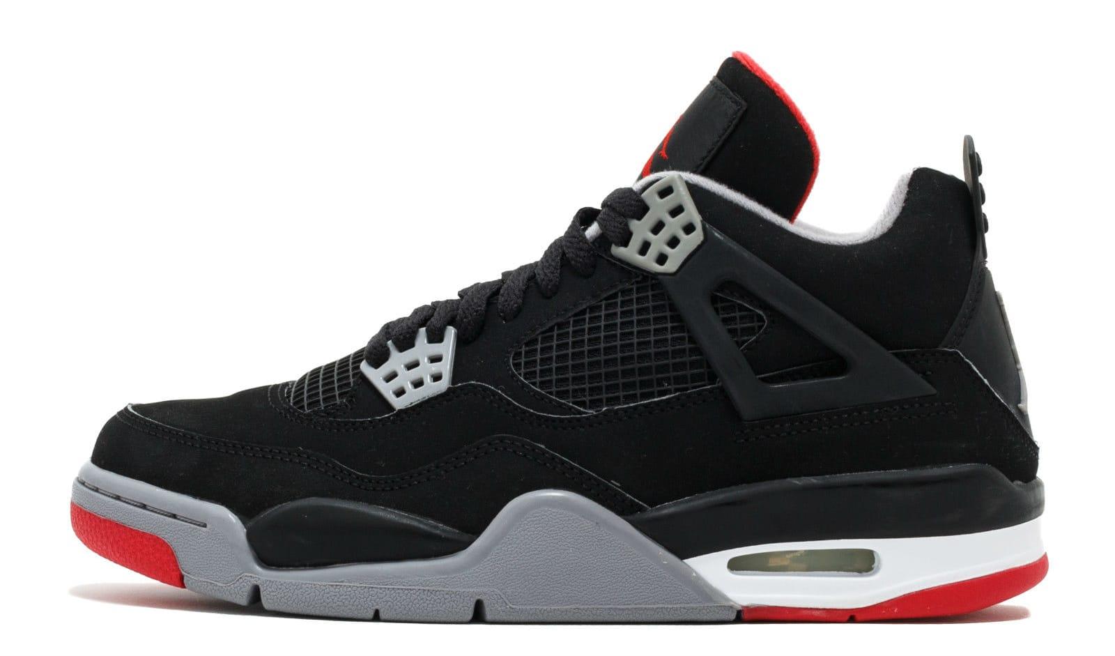 Air Jordan 4 \u0027Black/Cement\u0027