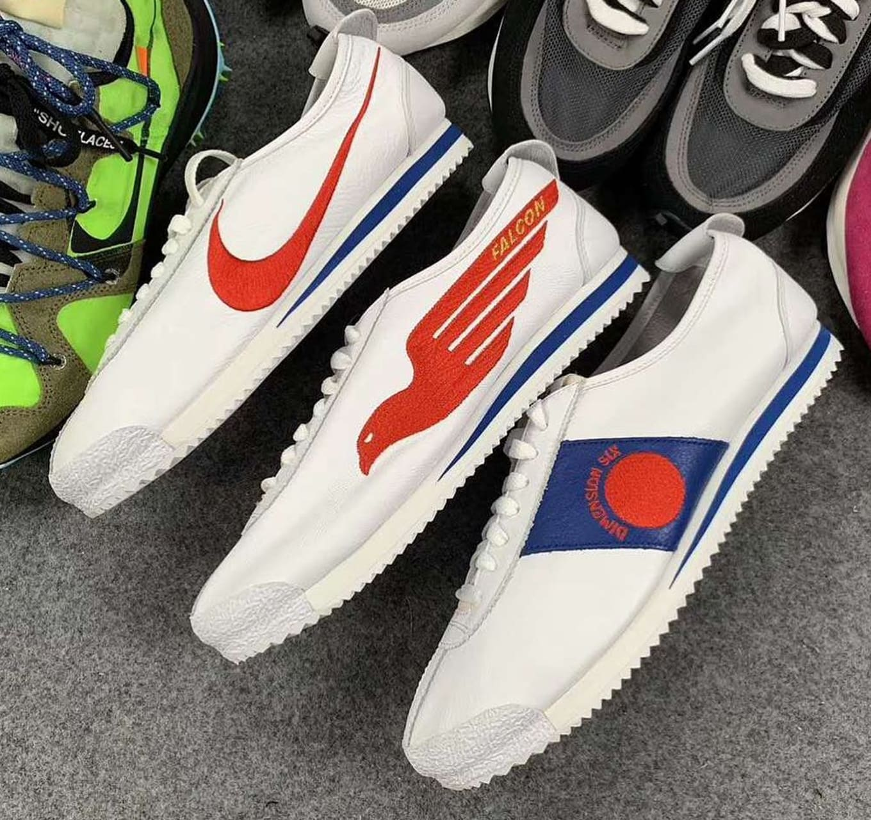 d056c30af2b Shoe Dog' x Nike Cortez '72 QS 'White/Varsity Red/Game Royal ...