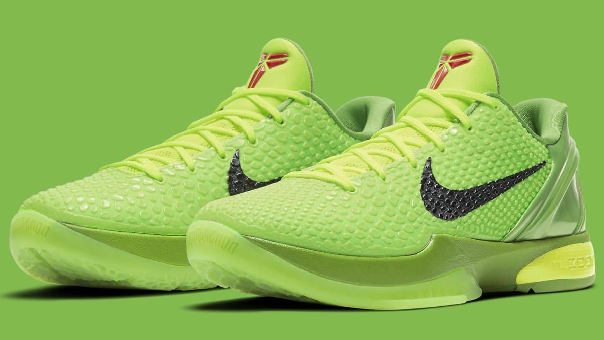 Nike Zoom Kobe 6 Protro 'Grinch' Release Date CW2190-300   Sole ...