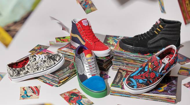 d3652786f4 Vans Assembles a Collection Celebrating Marvel s Greatest Heroes