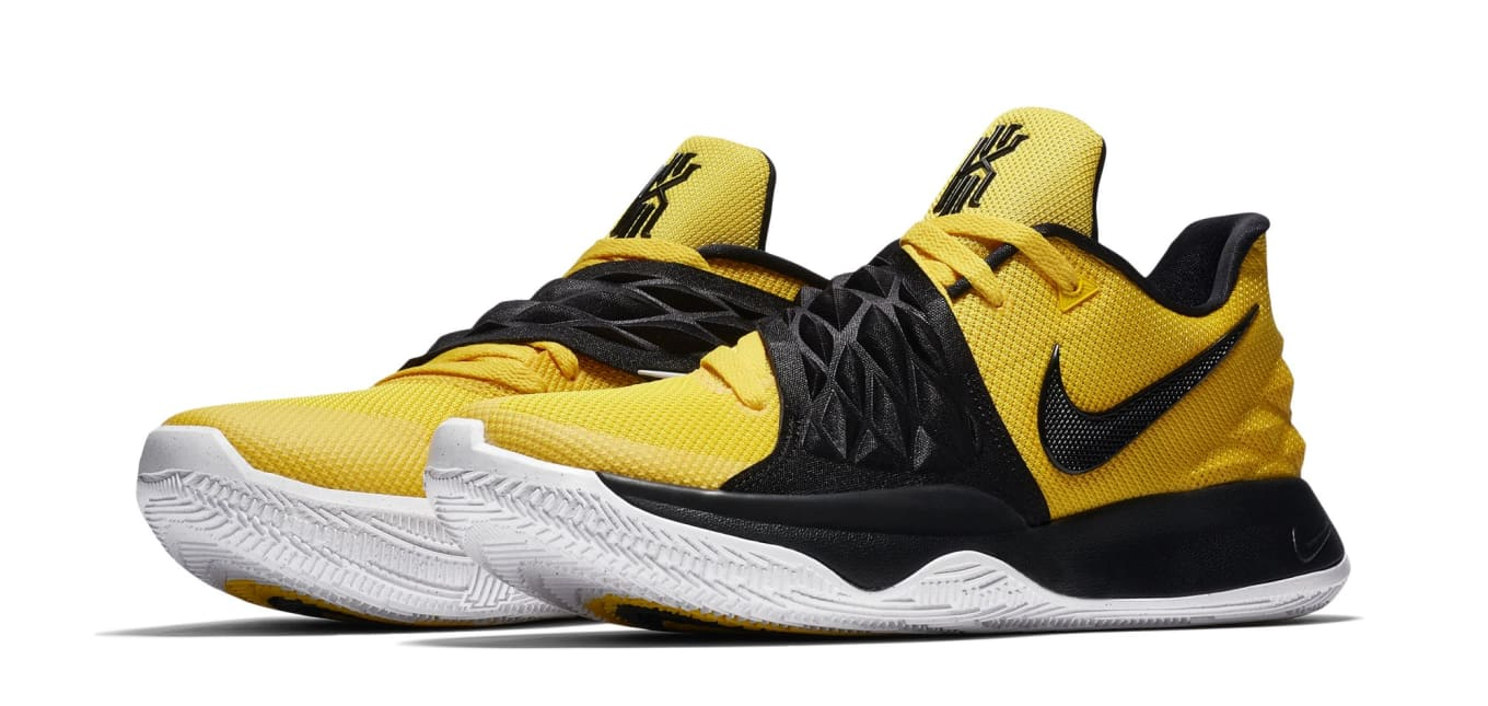 ce6484df4507 Black and Yellow Kyrie Lows on the Way.  School Bus -like colorway coming  in August.