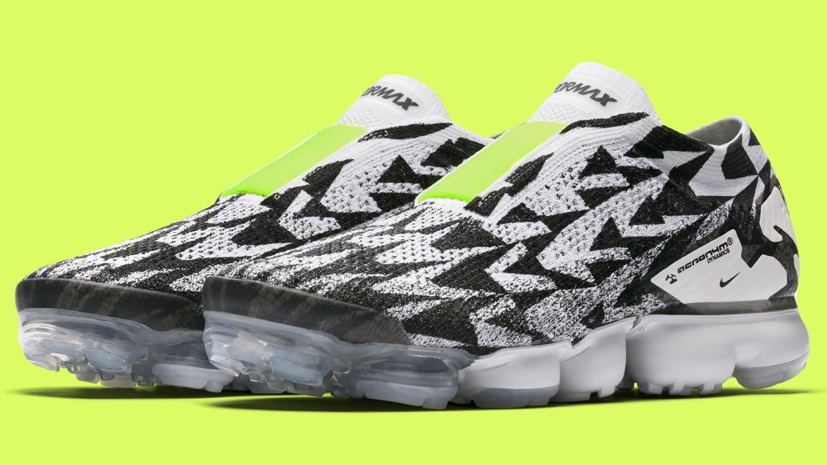 + Acronym Vapormax Flyknit Sneakers - BlackNike