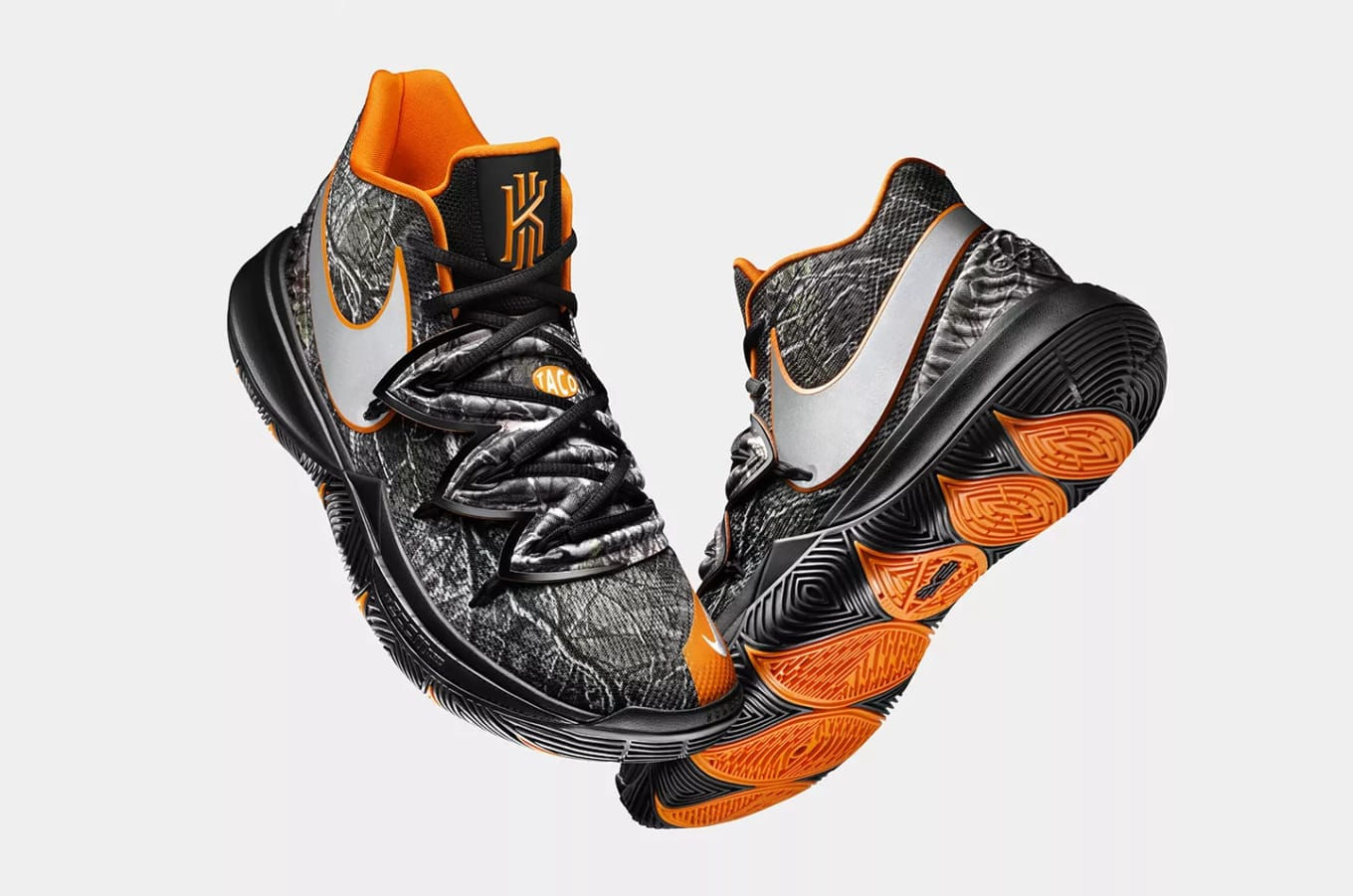 b6cf88d6ef70 New Release Date for the  Taco  Kyrie 5. Set to release later this month.