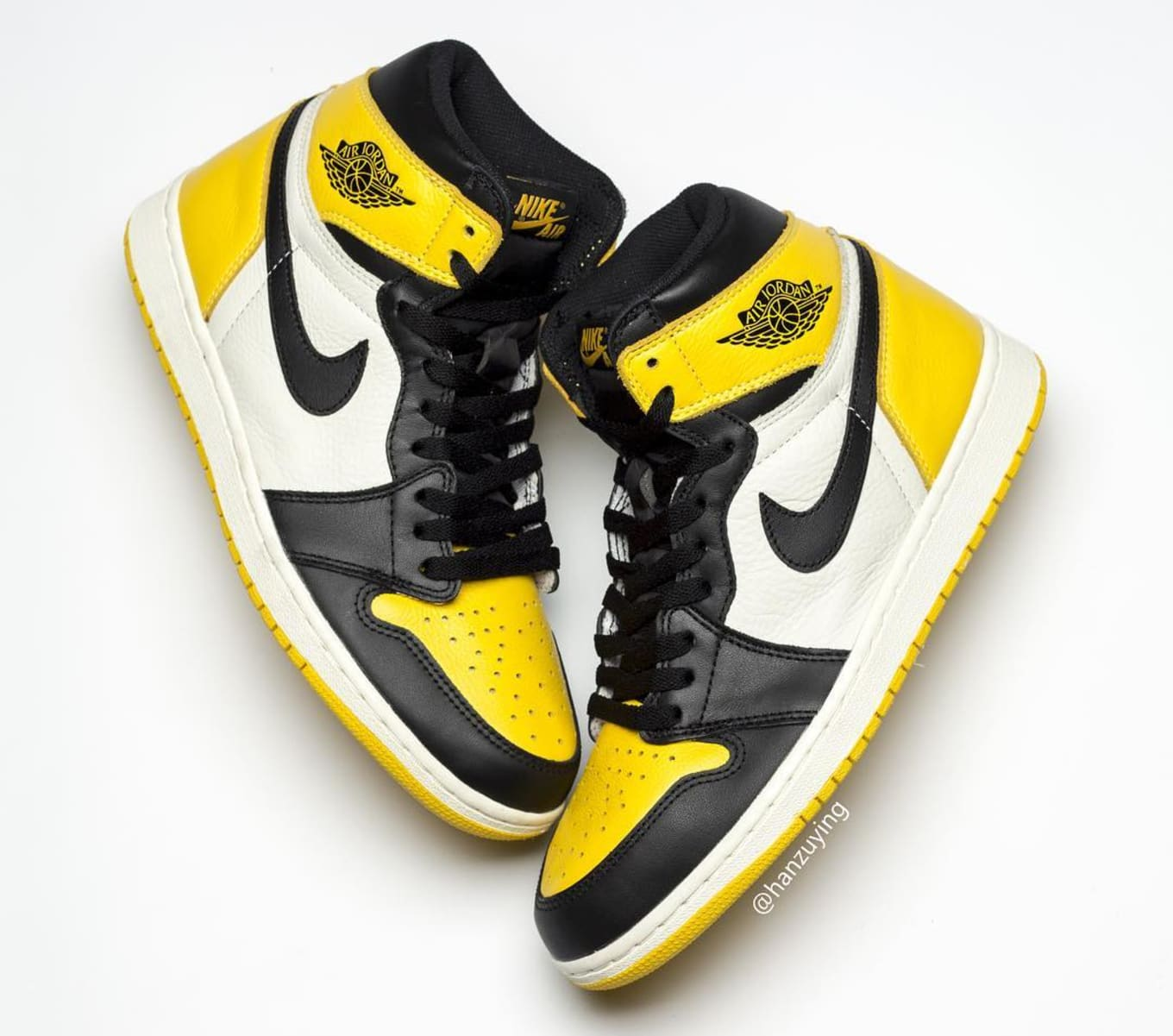 9f35dd9b10d0c6 Air Jordan 1 Retro High OG  Yellow Toe  Release Date AR1020-700 ...